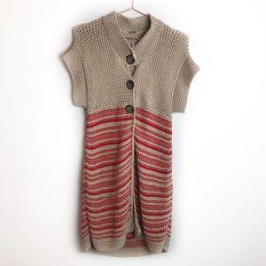 Free People Short Sleeved Knit Cardigan